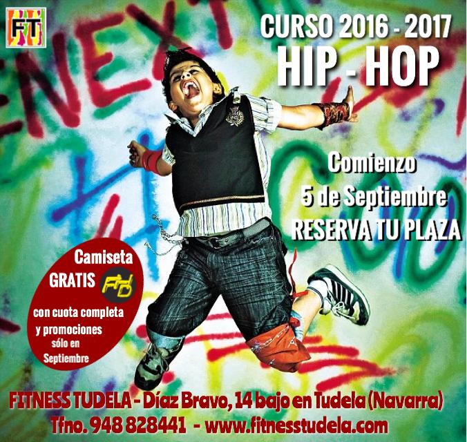COMIENZO CURSO HIP-HOP TUDELA '16 – '17