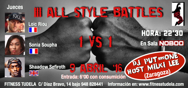 III ALL STYLES BATTLE EN TUDELA