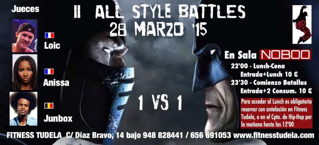 Espectáculo garantizado en el II All Styles Battle en Sala Noboo