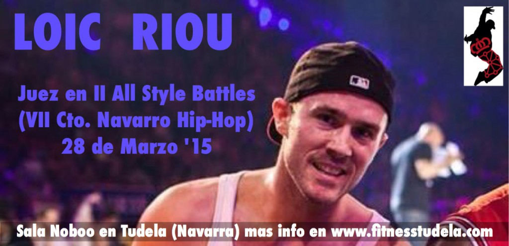 Loic Riou, juez principal II ALL STYLES BATTLE