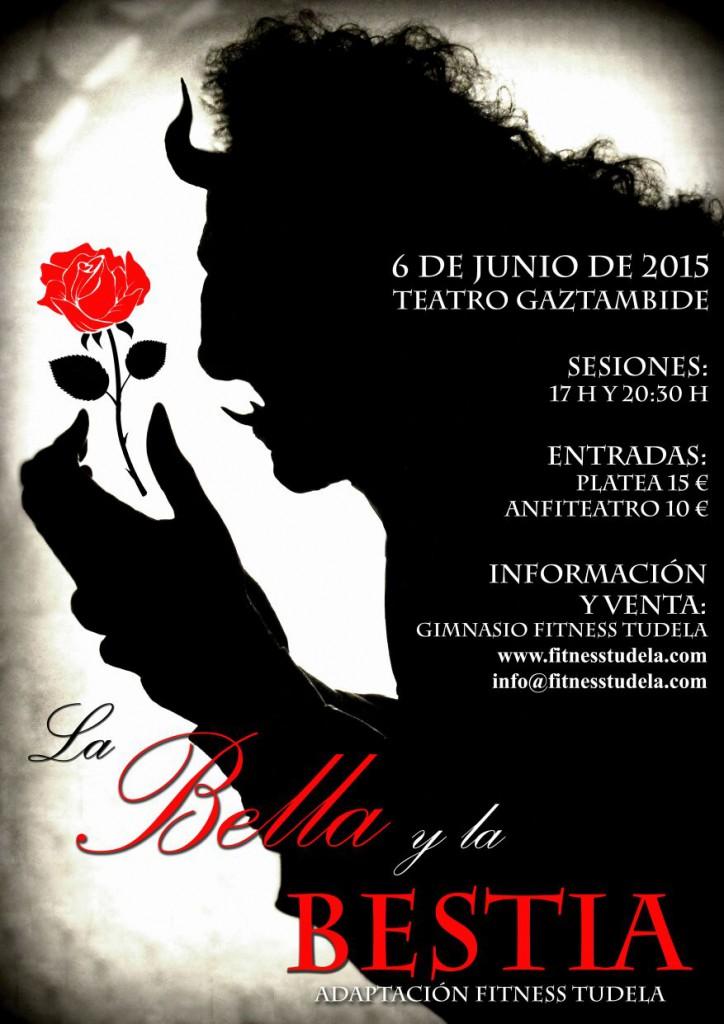 LA BELLA Y LA BESTIA – ADAPTACIÓN MUSICAL FITNESS TUDELA