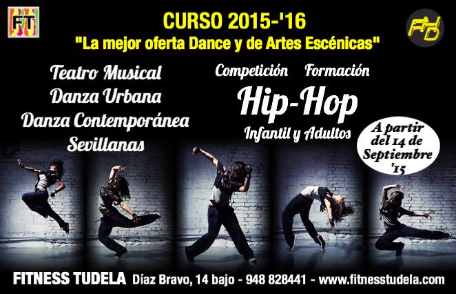 Curso 2015-'16 HIP-HOP Y ARTES ESCÉNICAS