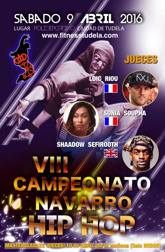 JUECES VIII CAMPEONATO NAVARRO DE HIP-HOP Y OPEN