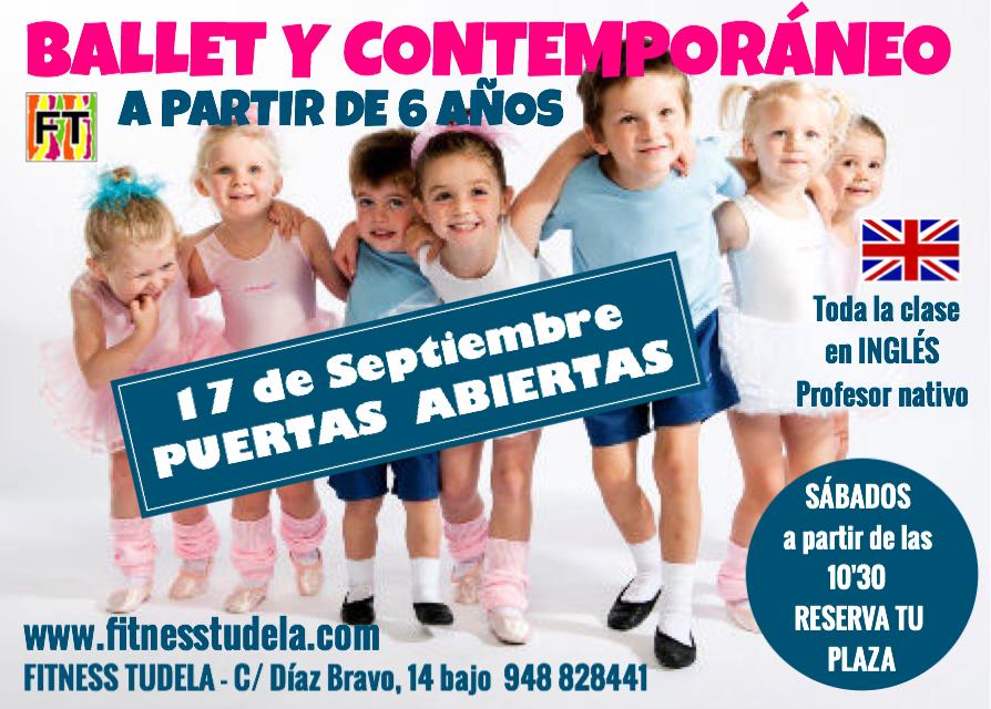 BALLET Y DANZA CONTEMPORÁNEA FITNESS TUDELA