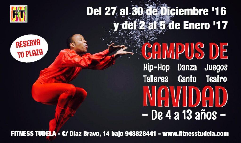 CAMPUS DE NAVIDAD Y ARTES ESCÉNICAS – FITNESS TUDELA '16