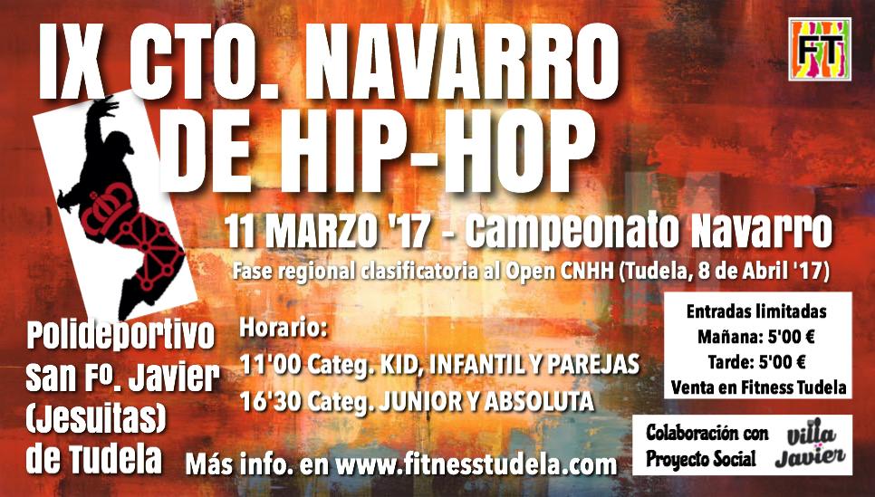 IX CAMPEONATO NAVARRO DE HIP-HOP