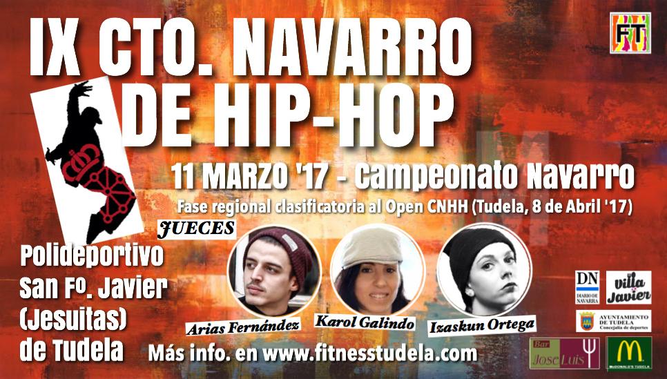 JUECES IX CAMPEONATO NAVARRO DE HIP-HOP