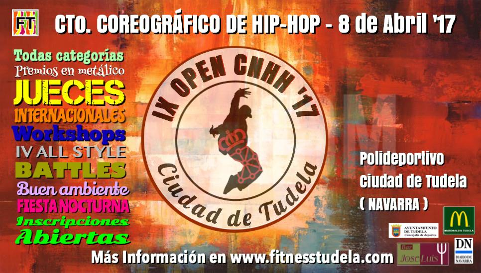 IX OPEN COREOGRÁFICO DE HIP-HOP CNHH '17