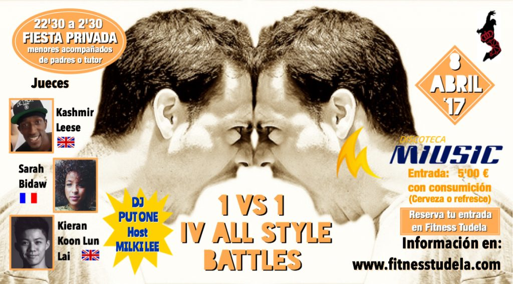 IV ALL STYLES BATTLE Y FIESTA IX OPEN CNHH '17