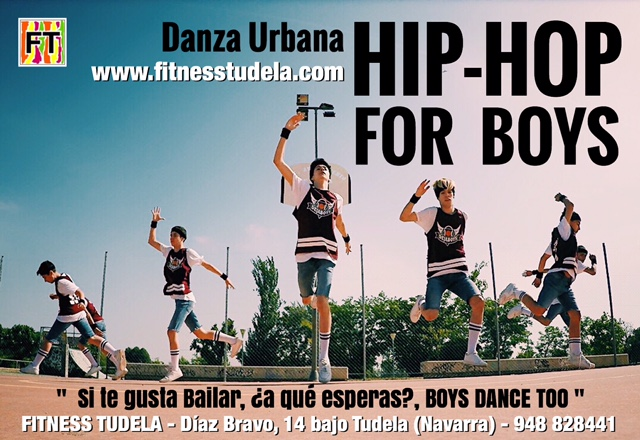 HIP-HOP FOR BOYS EN FITNESS TUDELA