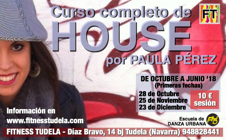 CURSO DE HOUSE DANCE EN FITNESS TUDELA