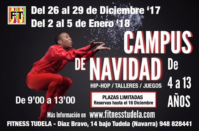 CAMPUS  DE NAVIDAD '17-'18 – FITNESS TUDELA