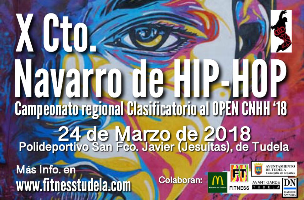 X CTO. NAVARRO DE HIP-HOP Y OPEN CNHH '18
