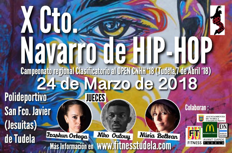 JUECES X CAMPEONATO NAVARRO DE HIP-HOP