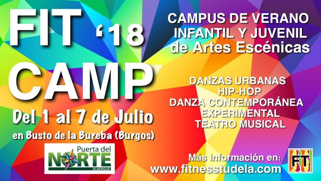 FIT CAMP '18 – Campus de Verano de Artes Escénicas