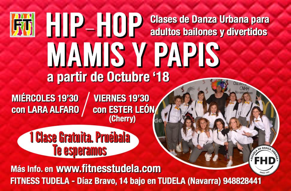 HIP-HOP PARA MAMIS Y PAPIS EN FITNESS TUDELA