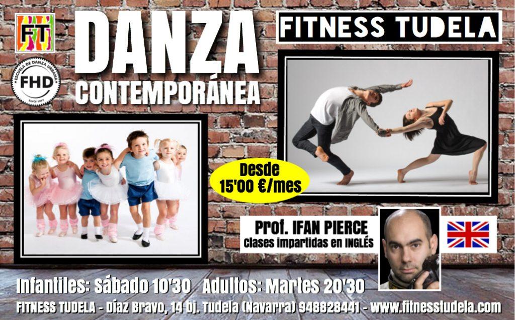 DANZA CONTEMPORÁNEA EN FITNESS TUDELA  '18