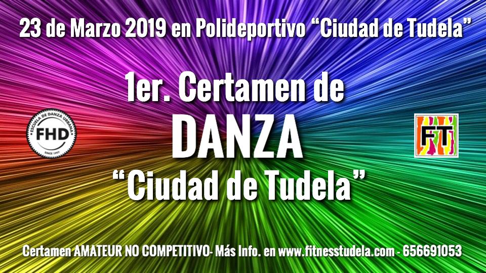 Certamen Danza Amateur No Competitivo Tudela Navarra 23 de Marzo 2019
