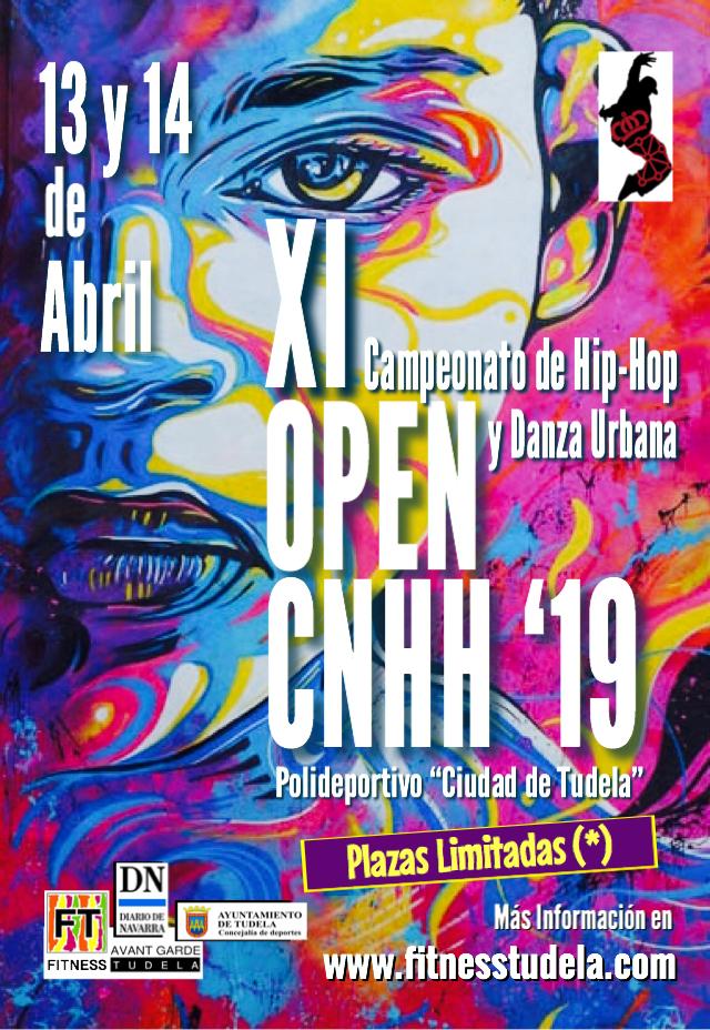 XI OPEN CNHH 2019 – CAMPEONATO ABIERTO DE HIP-HOP Y DANZAS URBANAS