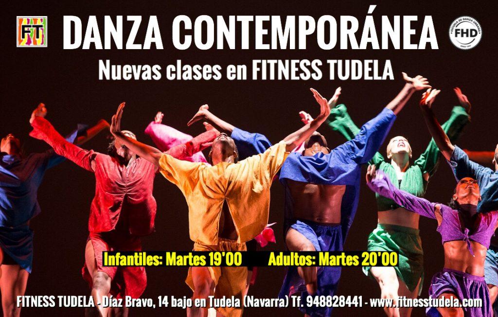 DANZA CONTEMPORÁNEA EN FITNESS TUDELA DE NAVARRA 2019 NUEVAS CLASES Y HORARIOS