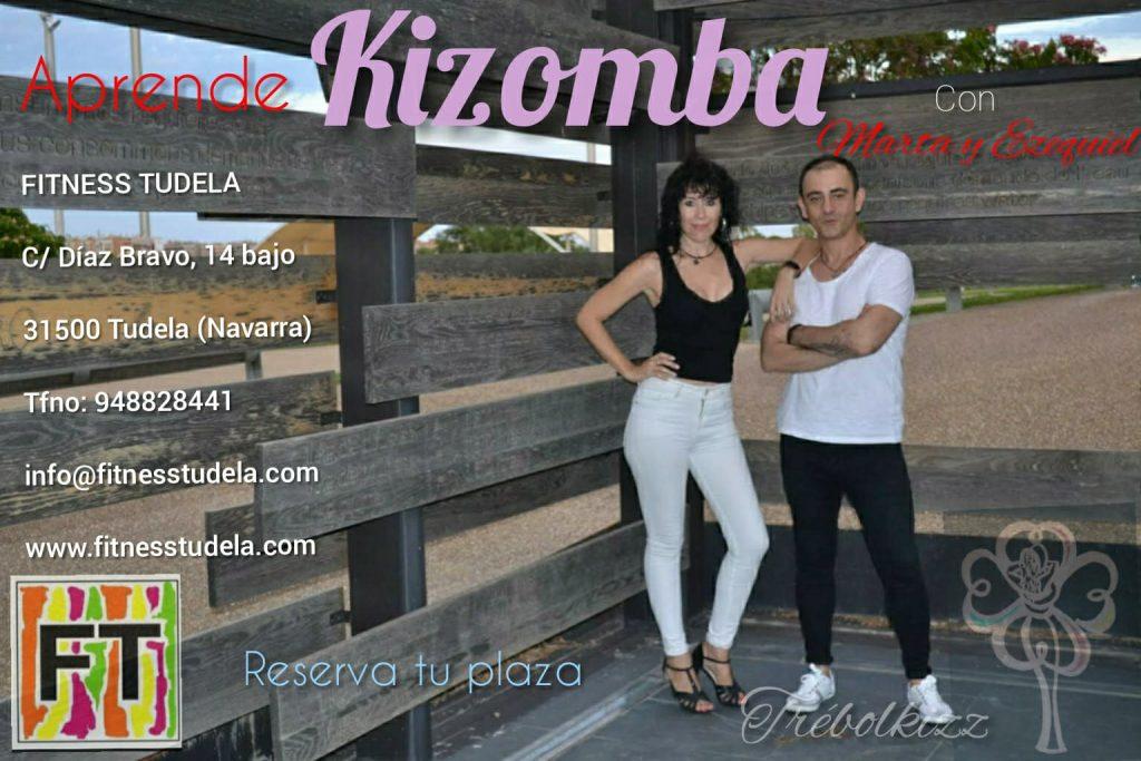 KIZOMBA, el Baile mas Sensual en Fitness Tudela (Navarra)