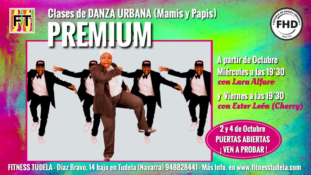 CLASES DE HIP-HOP PARA MAMIS Y PAPIS (PREMIUM) EN FITNESS TUDELA