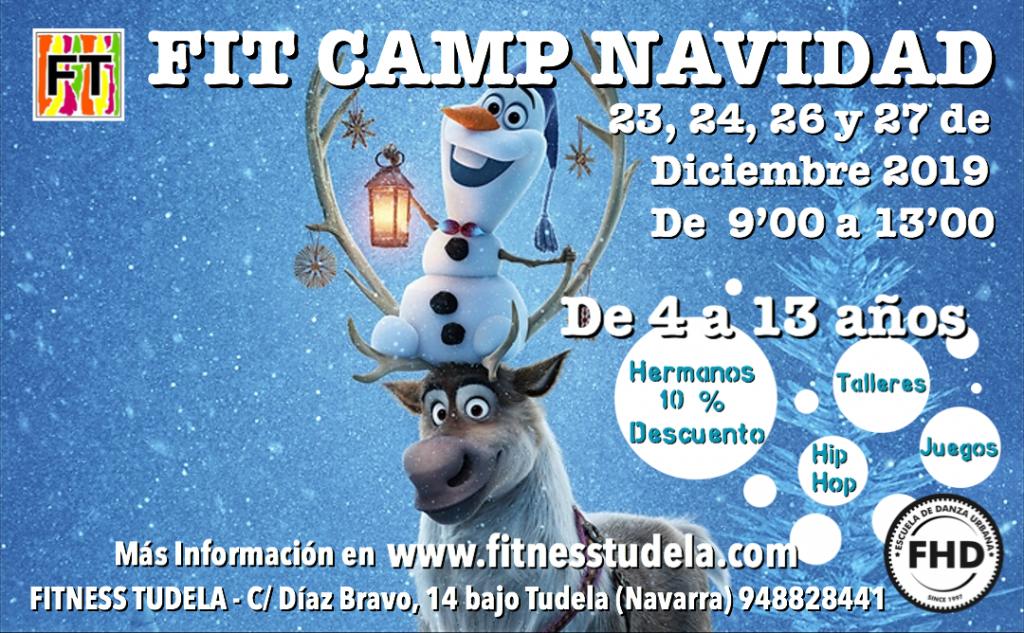 FIT CAMP NAVIDAD 2019 – Campus de 4 a 13 años en Fitness Tudela