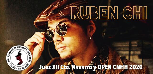 RUBEN CHI, JUEZ EN EL XII CTO. NAVARRO DE HIP-HOP Y OPEN CNHH 2020