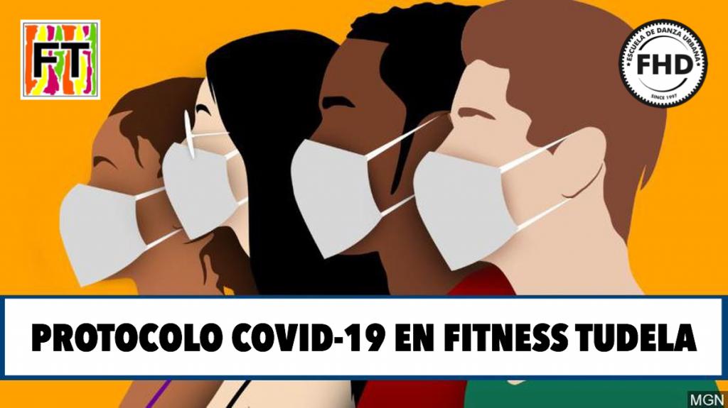 Protocolo COVID19 en FITNESS TUDELA - SEPTIEMBRE 2020