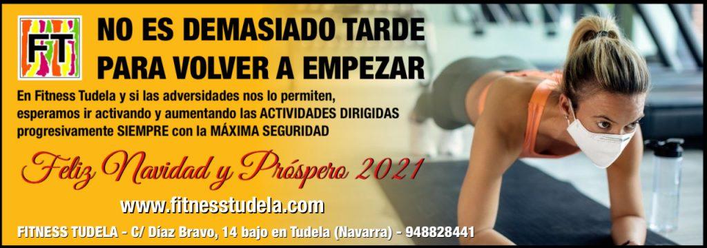 VUETA A LAS ACTIVIDADES DIRIGIDAS EN FITNESS TUDELA 2021