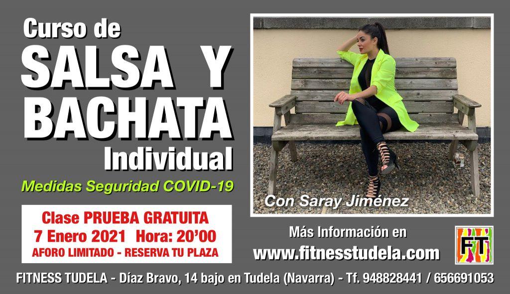 SALSA Y BACHATA INDIVIDUAL, OTRA FORMA DE BAILAR EN FITNESS TUDELA