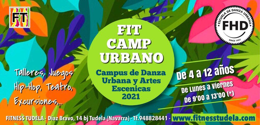 FIT CAMP URBANO 2021 - FHD DE FITNESS TUDELA