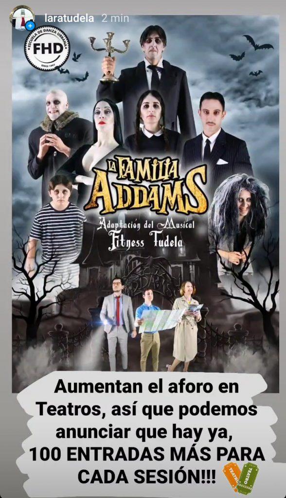 LA ADAPTACIÓN DE FAMILIA ADDAMS AMPLIA ENTRADAS EN TEATRO GAZTAMBIDE