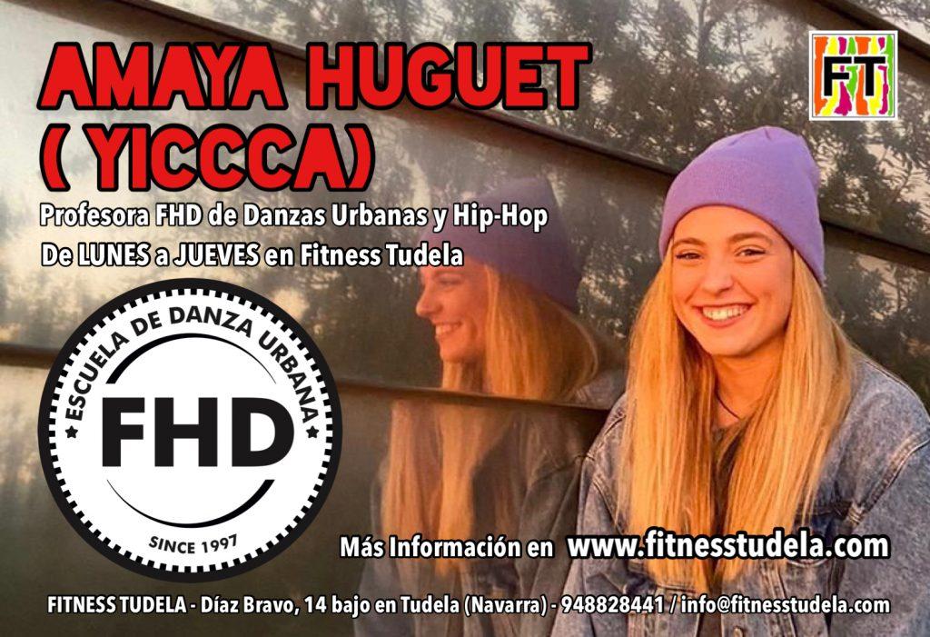 AMAYA HUGUET (YICCCA) - PROFESORA FHD EN FITNESS TUDELA (NAVARRA)